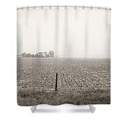 Nebraska Morning Shower Curtain