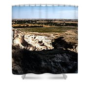 Nebraska Plains Shower Curtain