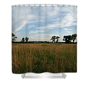 Nebraska Prairie One Shower Curtain