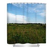 Nebraska Prairie Two Shower Curtain