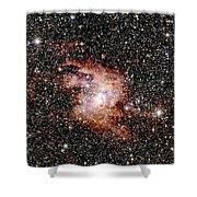 Nebula Ngc 3603 Shower Curtain