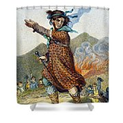 Ned Lud Shower Curtain