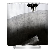 Needle In The Whale Shower Curtain
