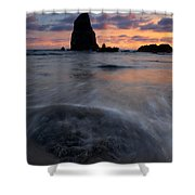 Needles Sundown Shower Curtain