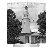 Neenah Lighthouse  8390 Shower Curtain