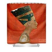 Nefertiti, Ancient Egyptian Queen Shower Curtain