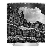 Nefertiti Arches National Park Shower Curtain