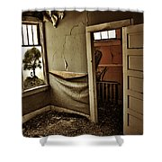 Nelly Olsens Tree Shower Curtain
