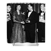 Nelson Algren (1909-1981) Shower Curtain