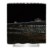 Neoned Pier Shower Curtain