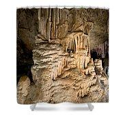 Nerja Caves In Spain Shower Curtain