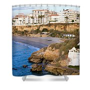Nerja Town On Costa Del Sol Shower Curtain