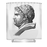 Nero (37-68 A.d.) Shower Curtain