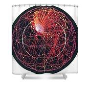 Neutrino Tracks Shower Curtain