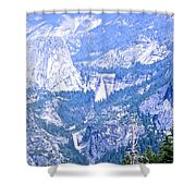 Nevada And Vernal Falls Shower Curtain