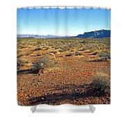 Nevada Desert Shower Curtain