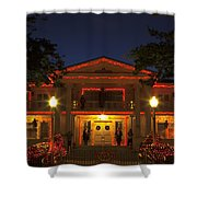 Nevada Governors Haunted Halloween Mansion Shower Curtain
