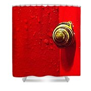 Never A Shortage Of #snails Back Here Shower Curtain