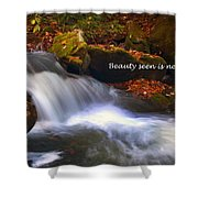 Never Lost - 2 Shower Curtain