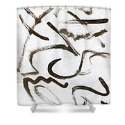 Never Stop And Wonder Shower Curtain