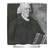 Nevil Maskelyne, English Astronomer Shower Curtain