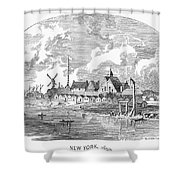 New Amsterdam, 1650 Shower Curtain