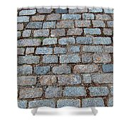New Bedford Mass Brick Street 2006 Shower Curtain
