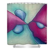 New Beginning Shower Curtain
