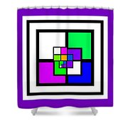 New Color Way Shower Curtain