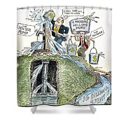 New Deal: Prime Pump Shower Curtain
