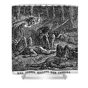 New England: Captives Shower Curtain