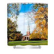 New England Style Shower Curtain