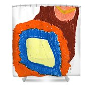 New Fruit Shower Curtain