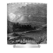 New Hampshire, 1838 Shower Curtain