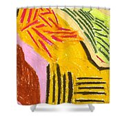 New Harvest Shower Curtain