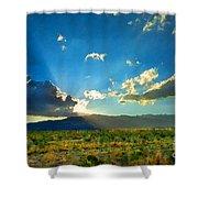 New Mexico Desert Shower Curtain