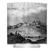 New Mexico: Laguna Pueblo Shower Curtain