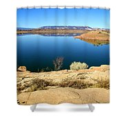 New Mexico Series - Abiquiu Lake Shower Curtain