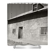 New Mexico Series - Adobe House In Truchas Shower Curtain