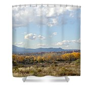New Mexico Series - Autumn Landscape Shower Curtain