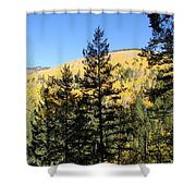 New Mexico Series - Autumn On The Mountain II Shower Curtain