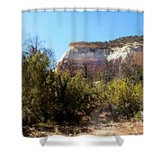 New Mexico Series - Bandelier IIi Shower Curtain
