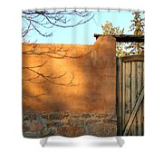 New Mexico Series - Doorway II Shower Curtain
