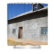 New Mexico Series - House In Truchas Shower Curtain