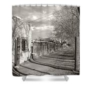 New Mexico Series - Late Day Shower Curtain