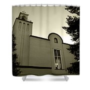 New Mexico Series - Our Lady Of Guadalupe Church Shower Curtain