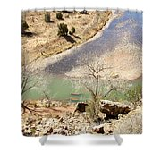 New Mexico Series A River View Shower Curtain