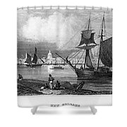 New Orleans, 1847 Shower Curtain