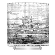 New Orleans, 1853 Shower Curtain