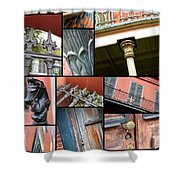 New Orleans Collage 1 Shower Curtain